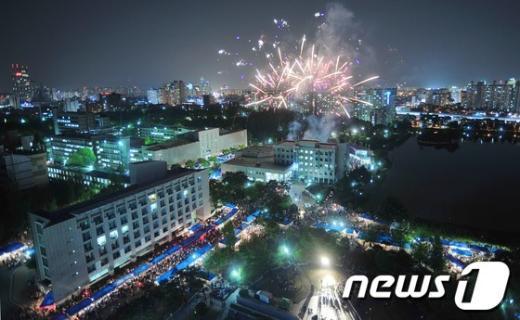 [사진]대학 축제의 밤