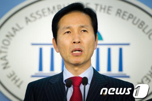 우제창 전 민주통합당 의원.  News1 유승관 기자