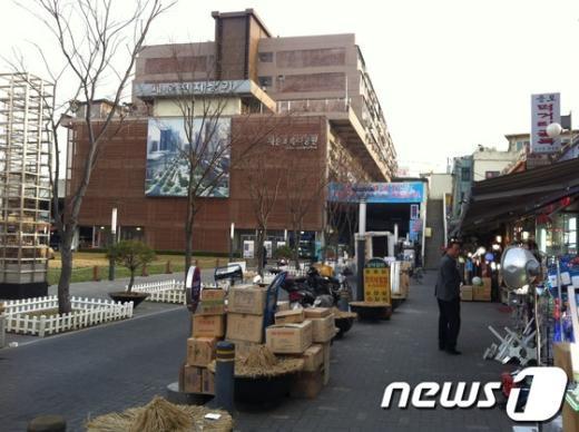 서울 종로구 세운상가.  News1 임미선 인턴기자