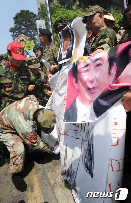 [사진]日 위안부 관련 망언 규탄 기자회견