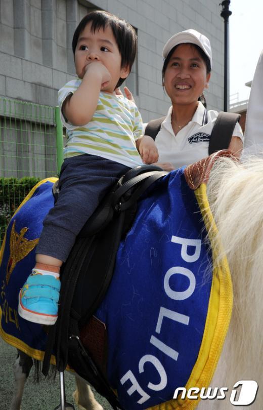 [사진]나도 경찰기마대