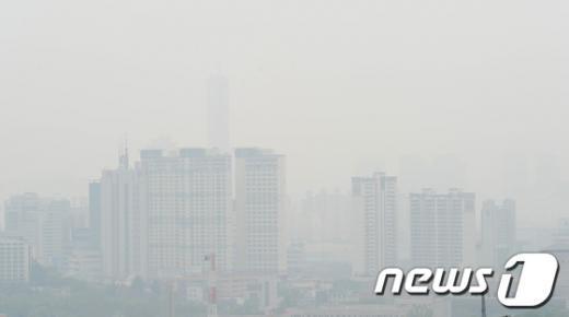 [사진]뿌연 서울