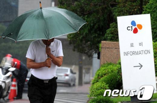 [사진]비자금·탈세 의혹 속 CJ