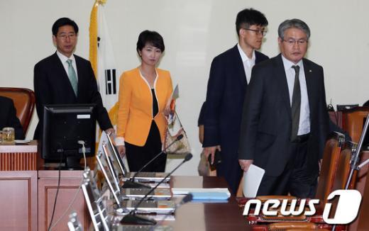 [사진]국회 복지위, 진주의료원 사태 논의
