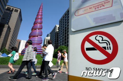 [사진]세계 금연의 날 D-1
