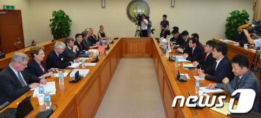 [사진]한-미 원자력협정 개정위한 협상 재개