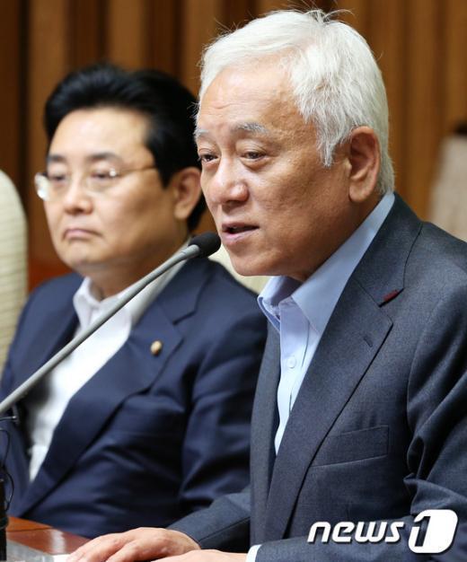 """[사진]김한길 """"민주당, 을(乙) 지키는 유일한 정치세력"""""""