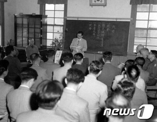 [사진]1954년 보건사회부 혈액은행 개관식
