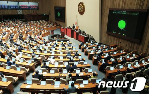 """[사진]국회, """"동북아역사왜곡특위 구성"""" 만장일치 의결"""