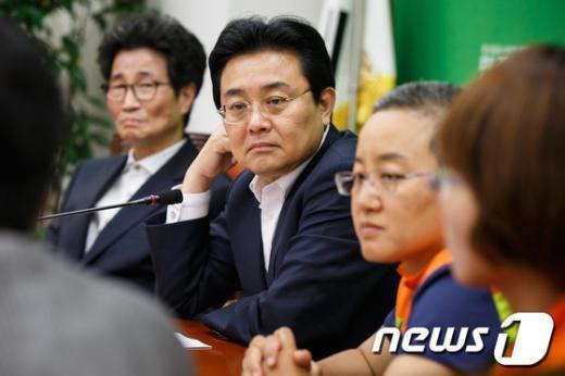 """[사진]전병헌, """"진주의료원 사태 심각"""""""