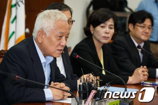 """[사진]김한길, """"초선의원 오찬간담회"""""""