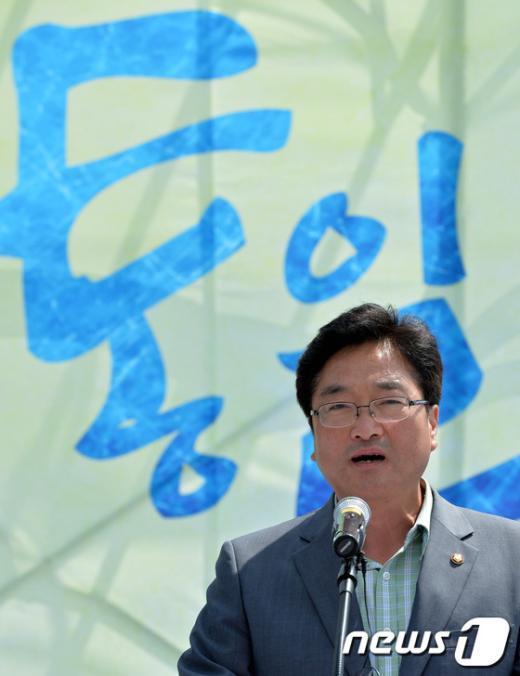 [사진]축사하는 우원식 의원
