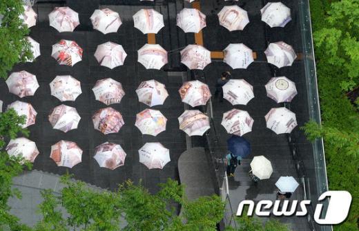 [사진]장맛비 내리는 서울