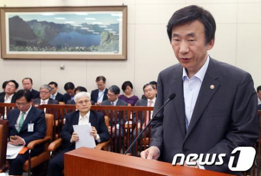"""[사진]윤병세 """"북·미 회담 제의는 북한의 전형적 전술"""""""