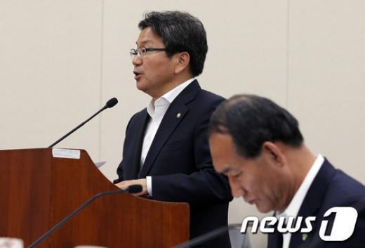 """[사진]강기정, """"님을 위한 행진곡"""" 5.18 기념곡 지정 촉구"""