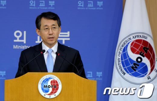 조태영 외교부 대변인 2013.4.24/뉴스1  News1 박정호 기자