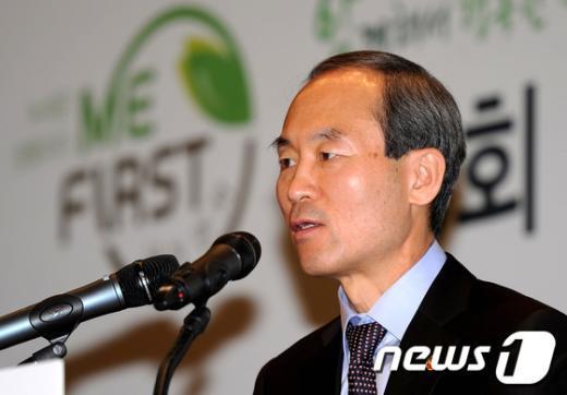 윤성규 환경부 장관. /뉴스1  News1 박정호 기자