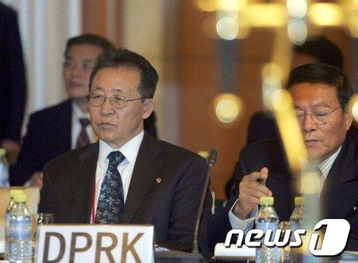김계관 외무성 제1부상  AFP=News1   여인옥