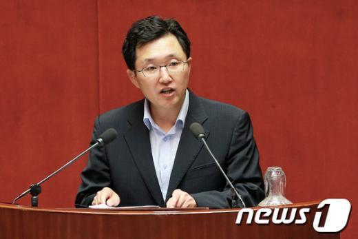 김용태 새누리당 의원. 2013.6.12/뉴스1  News1 오대일 기자