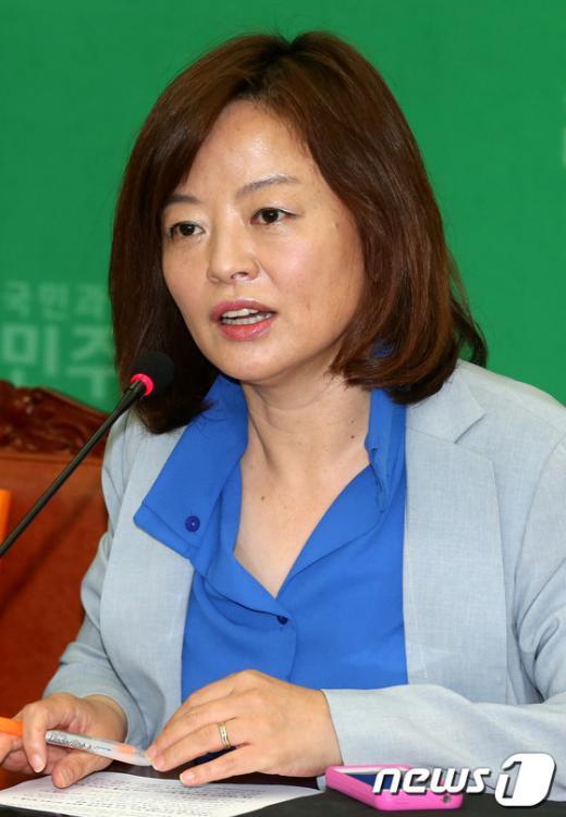 민주당 진선미 의원. 2013.6.16/뉴스1  News1 이광호 기자