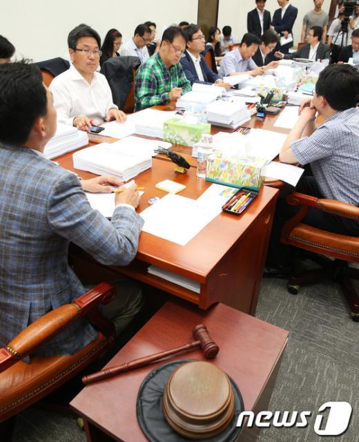 [사진]국회 정무위, 경제민주화 법안 심사