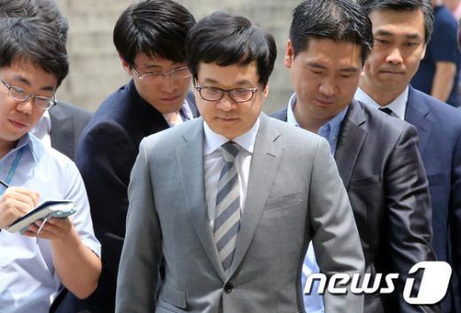 [사진]이재현 CJ그룹 회장 영장실질심사