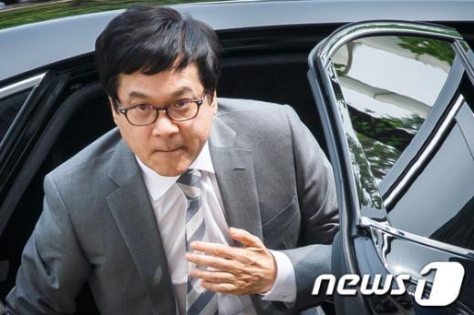 """[사진]이재현 CJ회장, """"오늘 구속여부 결정"""""""