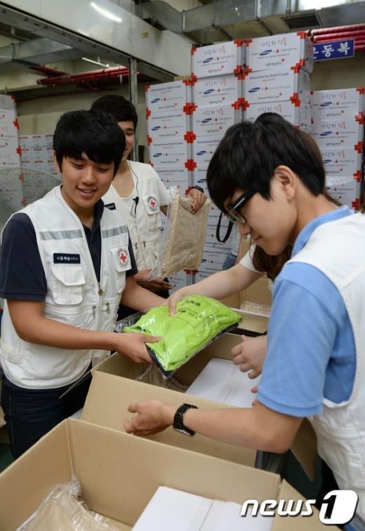 [사진]재난대비 봉사의 손길