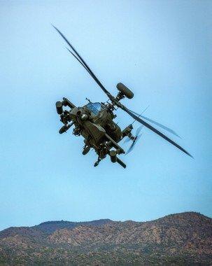 미국 보잉사의 AH-64E. /뉴스1  News1