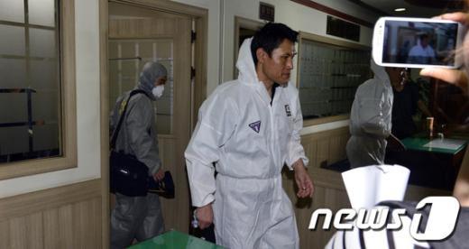 [사진]과학수사팀 성재기씨 시신 검안검시