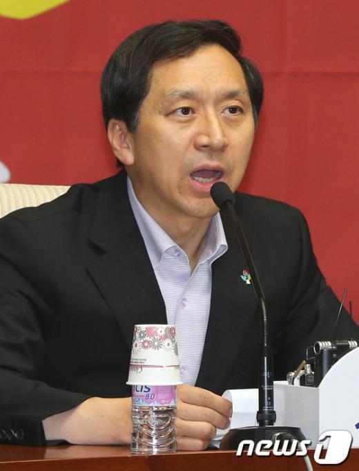 김기현 새누리당 정책위의장. /뉴스1  News1 송원영 기자