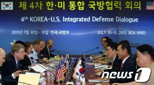 [사진]한미 국방부, 전작권전환 연기 논의