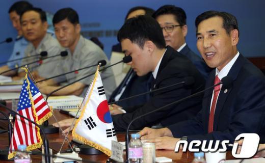 [사진]제4차 한미통합국방협의체 회의