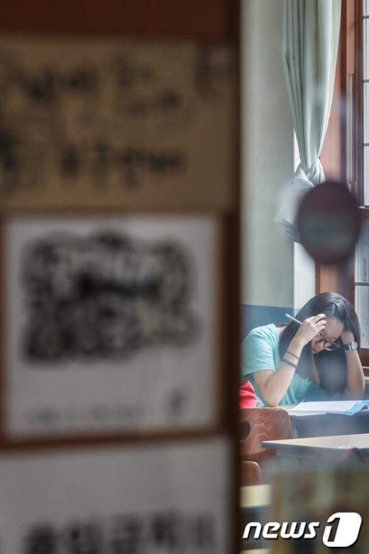 [사진]방학 잊은 수험생