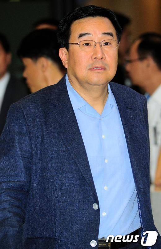 [사진]귀국한 김정훈 의원