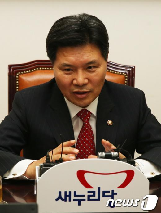 홍문종 새누리당 사무총장.  2013.5.22/뉴스1  News1 송원영 기자