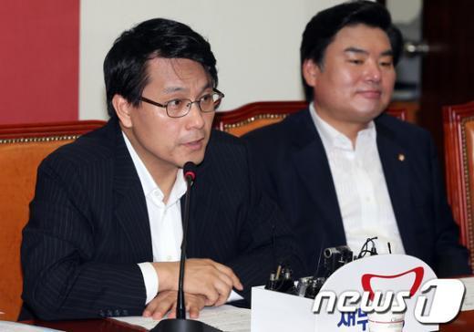 [사진]윤상현 원내수석부대표의 발언