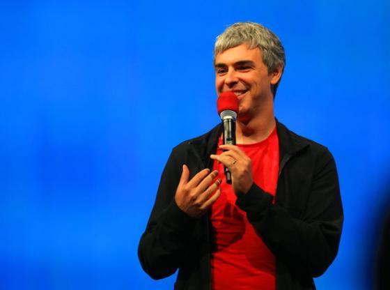 구글 공동창업자 래리 페이지. <사진출처:뉴욕타임스>