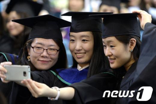 [사진]친구들과 졸업 셀카