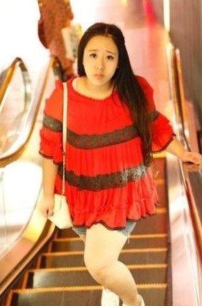 인터넷에서 화제가 된 가장 예쁜 뚱녀