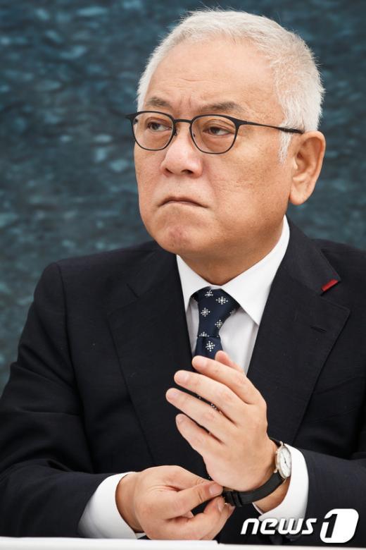 """[사진]김한길 """"야당대표 무시하는 대통령 우려"""""""