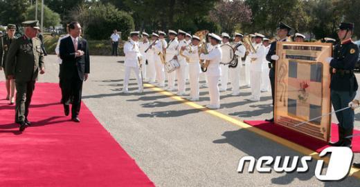 [사진]박승춘 처장, 그리스 국방부 방문