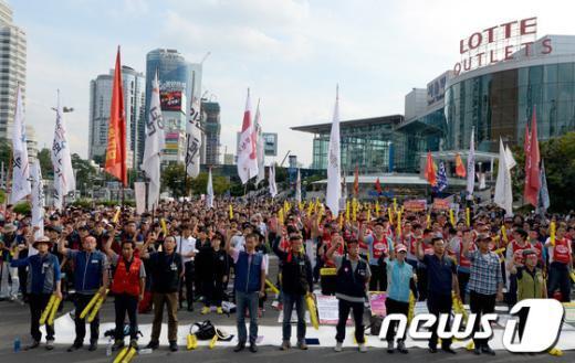 [사진]민주노총, 민영화 저지 총력 투쟁