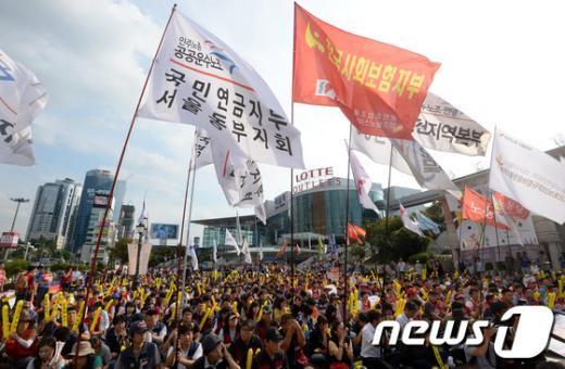 [사진]민영화 저지, 총력 투쟁