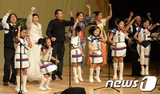 [사진]노래하는 다문화 가족