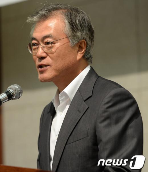 [사진]축사하는 문재인 의원
