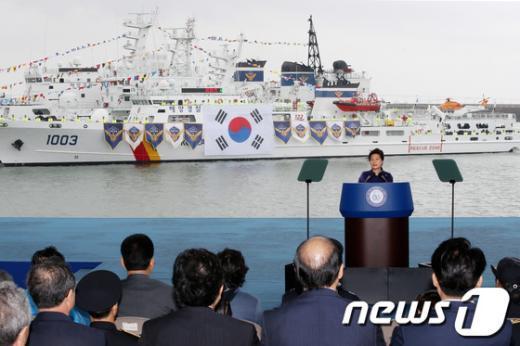 [사진]축사하는 朴 대통령