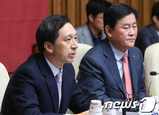김기현 새누리당 정책위의장. 2013.10.18/뉴스1  News1 송원영 기자