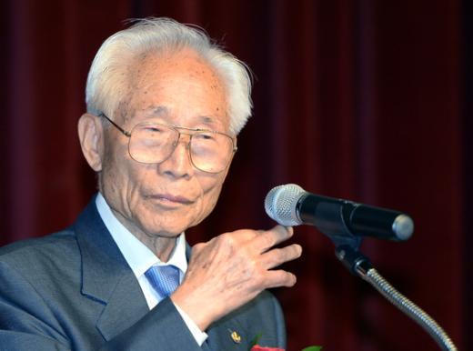 [사진]기념사 하는 임우철 한국독립유공자협회장