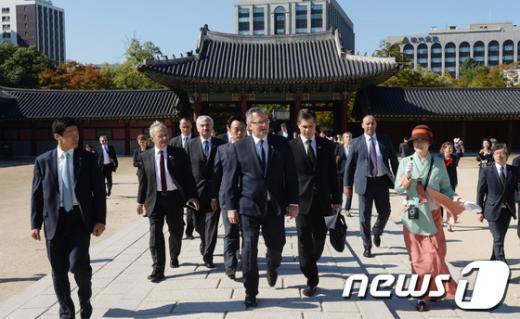 [사진]창덕궁 찾은 폴란드 대통령